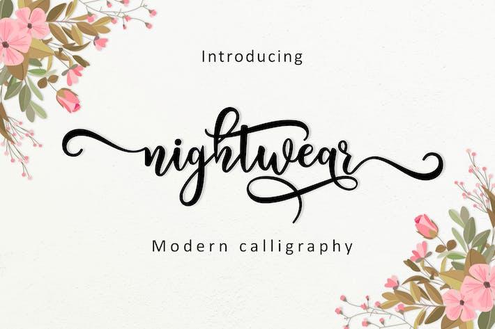 Thumbnail for Nightwear Script