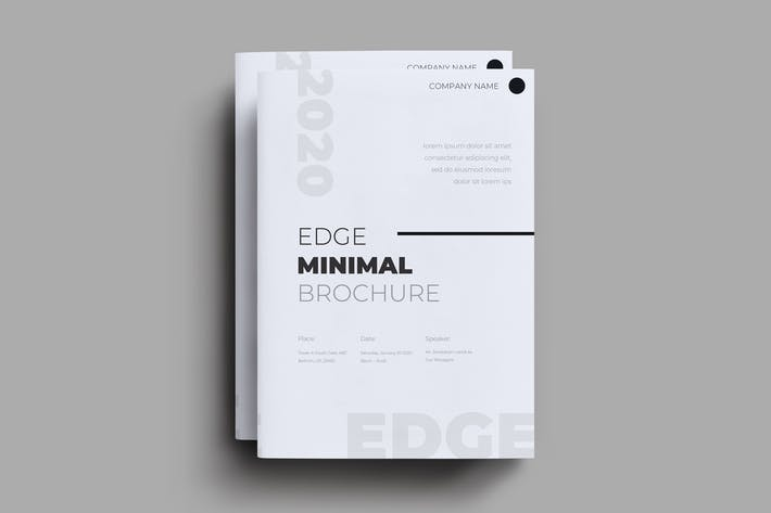 Thumbnail for Edge Brochure Template