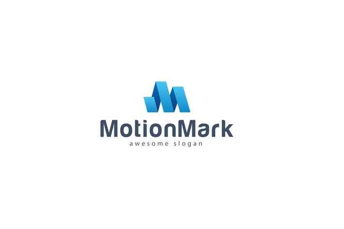 Thumbnail for Motion Mark Logo Template