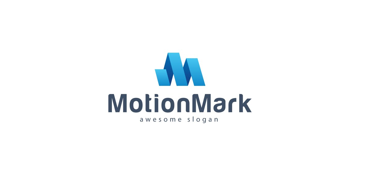Download Motion Mark Logo Template by hoanglam1607