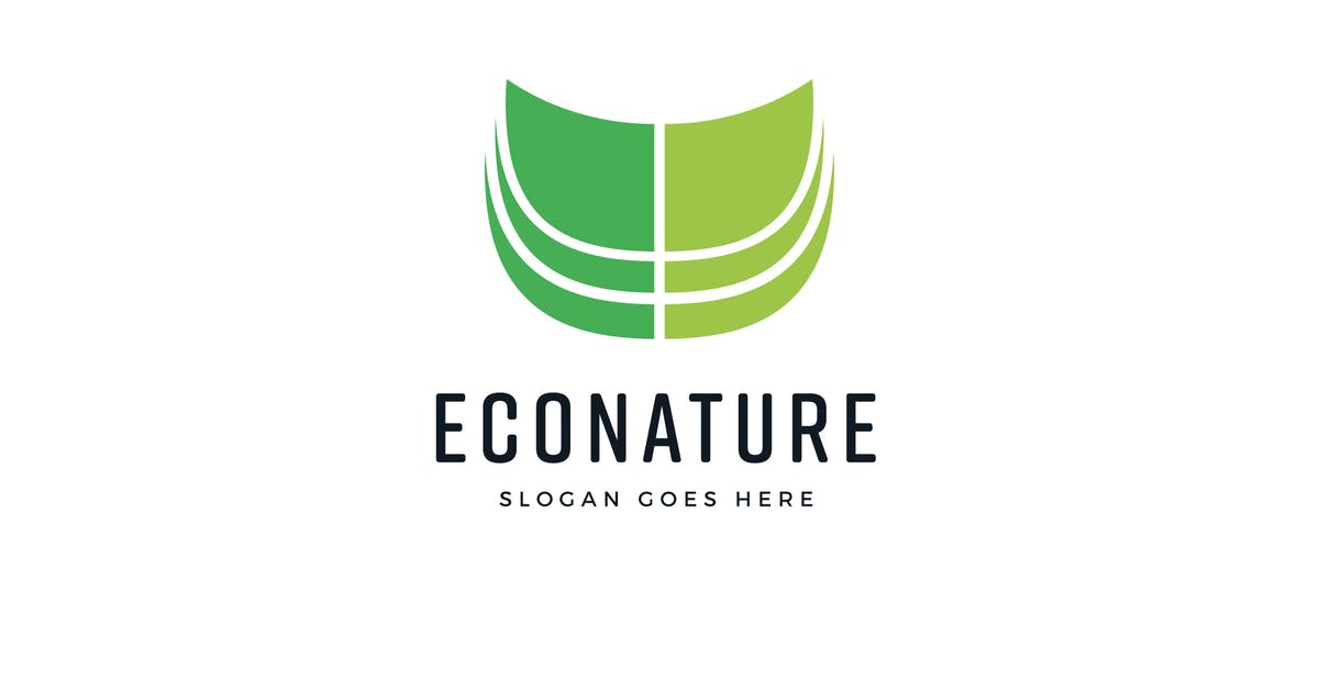 Download Eco Nature Logo Vector Template by Pixasquare