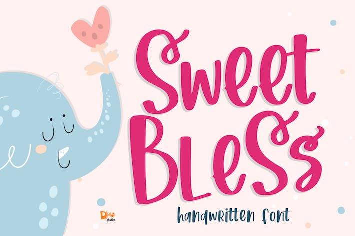 Thumbnail for Sweet Bless- Fuente manuscrita