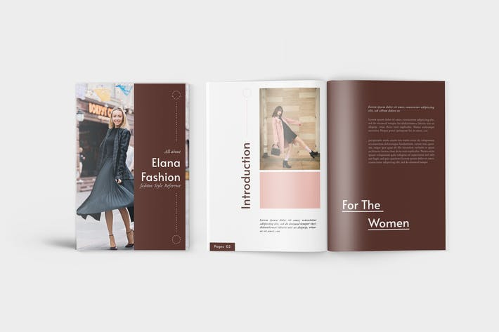 Thumbnail for Elana Fashion Lookbook Catalogue