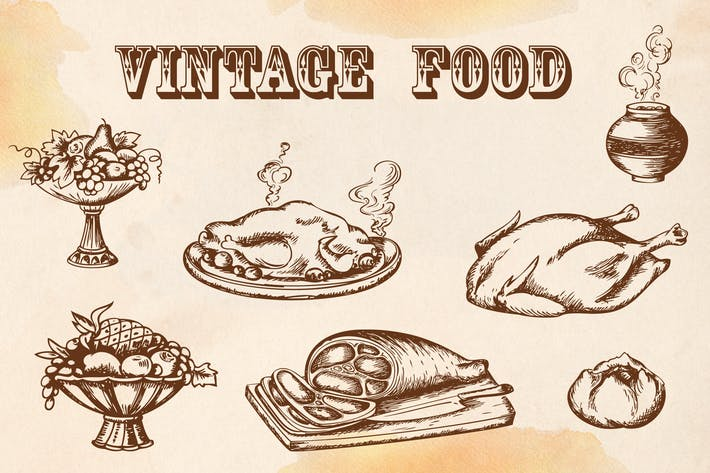 Thumbnail for Vintage Food
