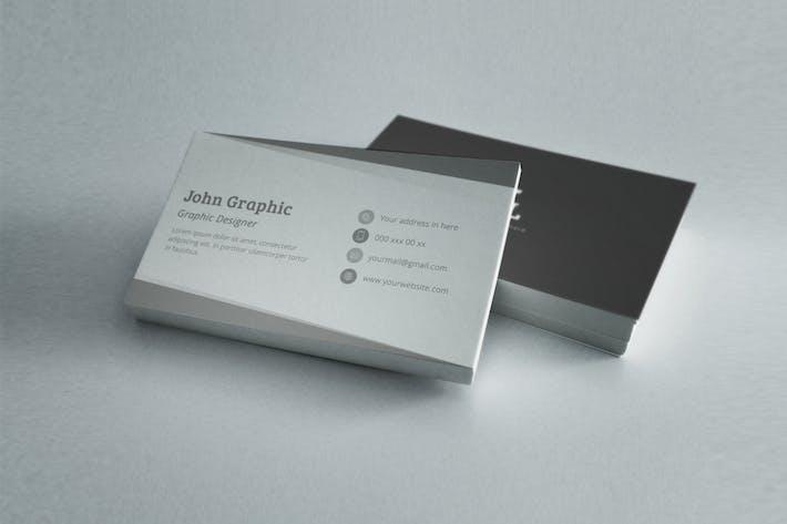 Thumbnail for Профессиональный Шаблон визитной карточки
