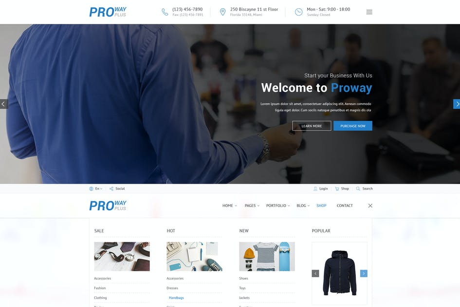 Download ProWay Plus - Business, Finance HTML Template by CreativeWS