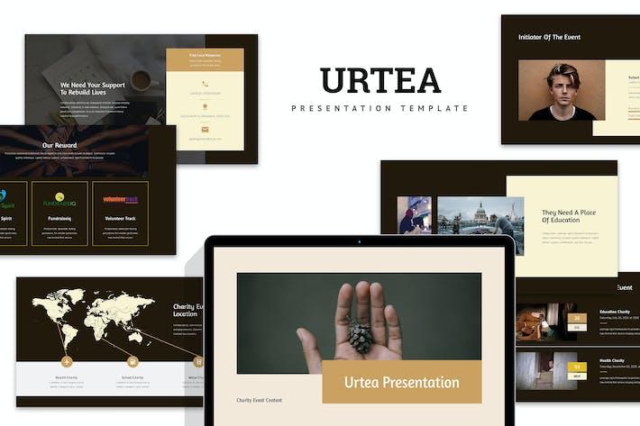 Thumbnail for Urteo : Charity Event Google Slides