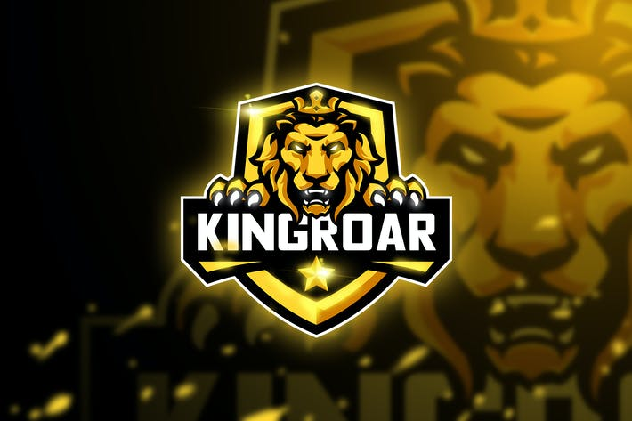 Thumbnail for Kingroar - Mascot & Esport logo