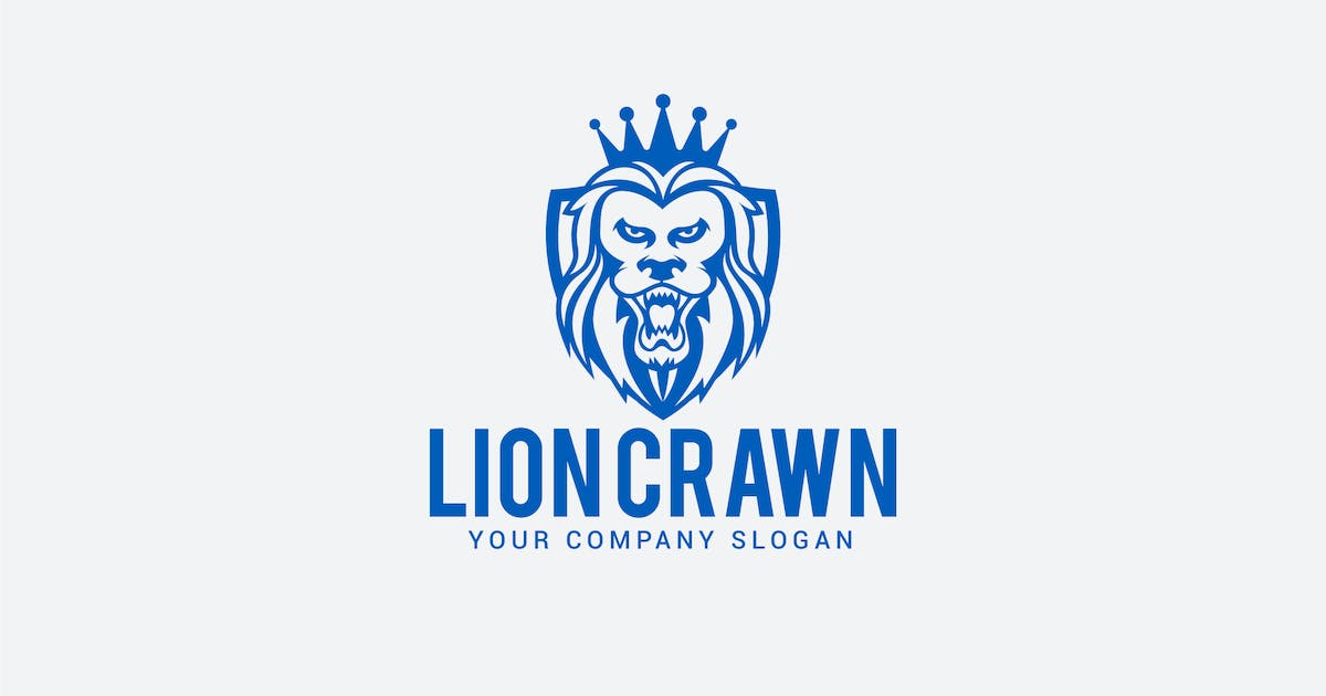 Download lion crawn by shazidesigns