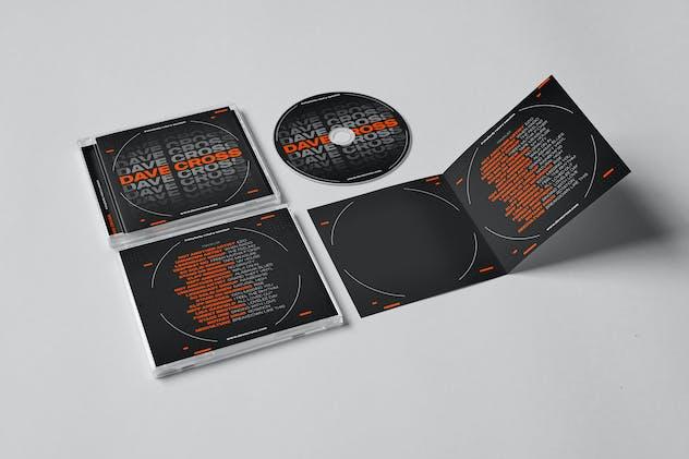 Promo DJ Mix / Album CD Cover Artwork Template