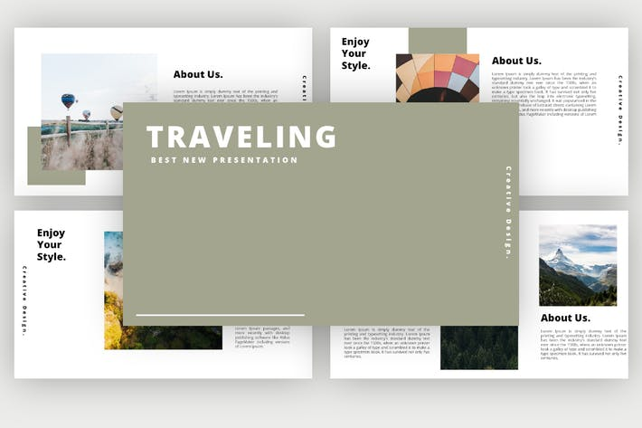 Thumbnail for Traveling - Powerpoint Template