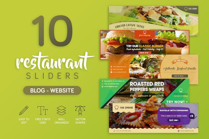 Thumbnail for Restaurant Slider