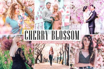 Cherry Blossom Mobile & Desktop Lightroom Presets