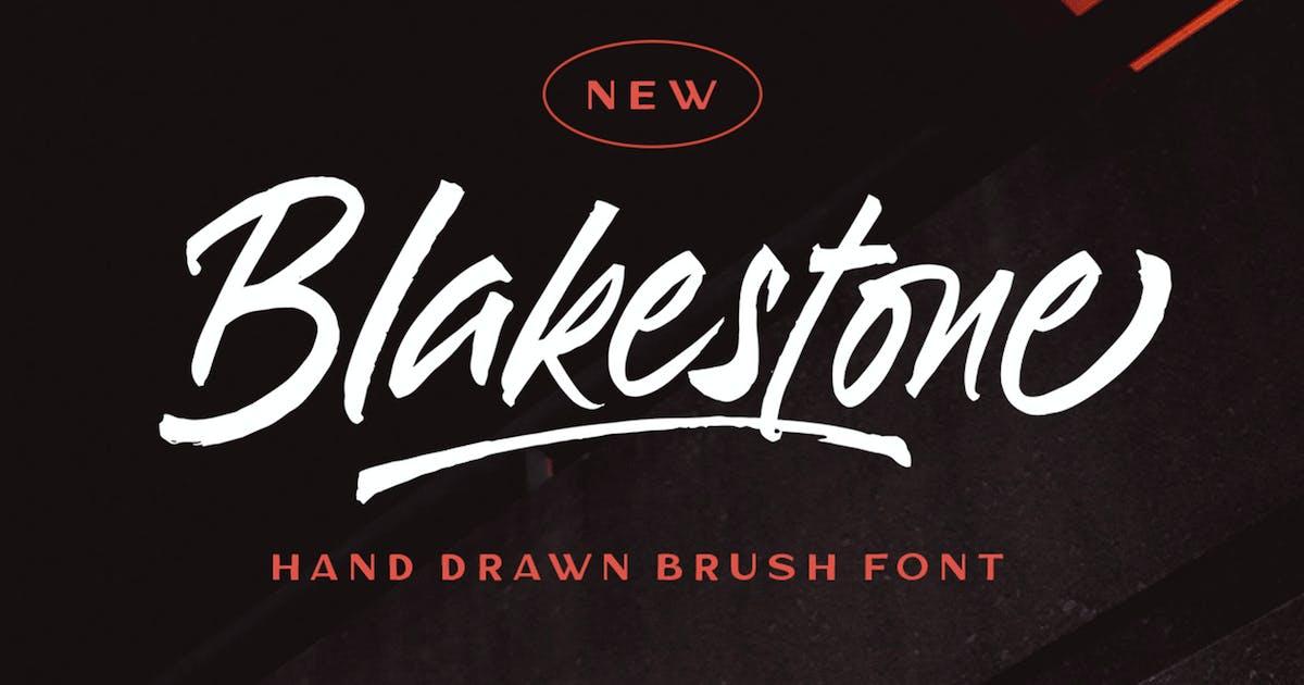 Download Blakestone - Hand drawn Brush font by letterhend