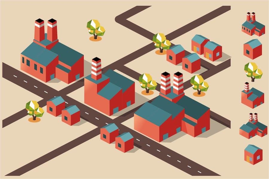 Manufacture factory area