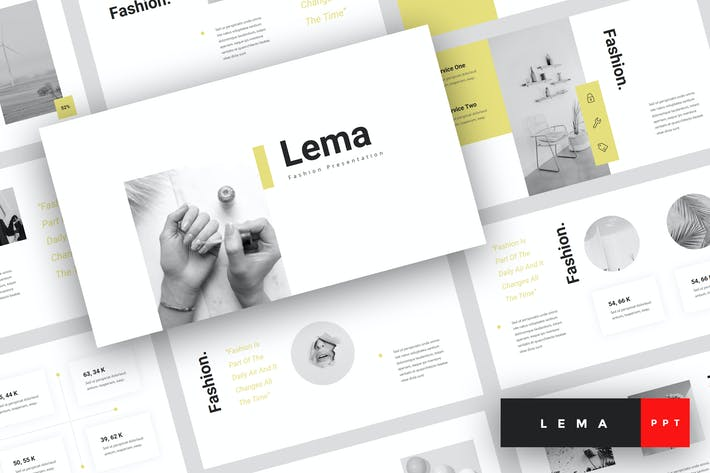 Thumbnail for Lema - Fashion PowerPoint Template