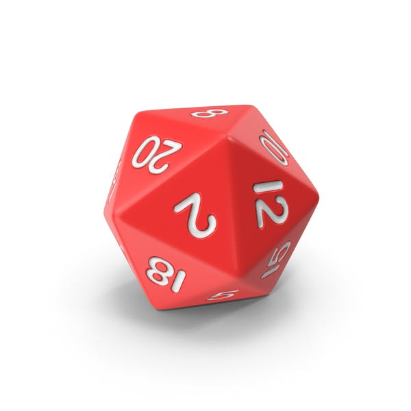 Thumbnail for Polyhedral 20 Sided Die