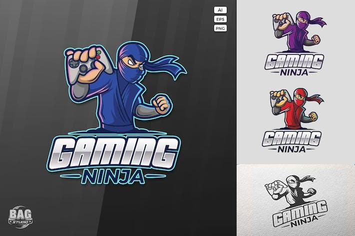 Thumbnail for Gaming Ninja Logo Template