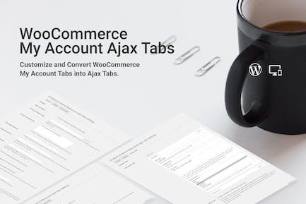 WooCommerce Myaccount AJAX Tabs