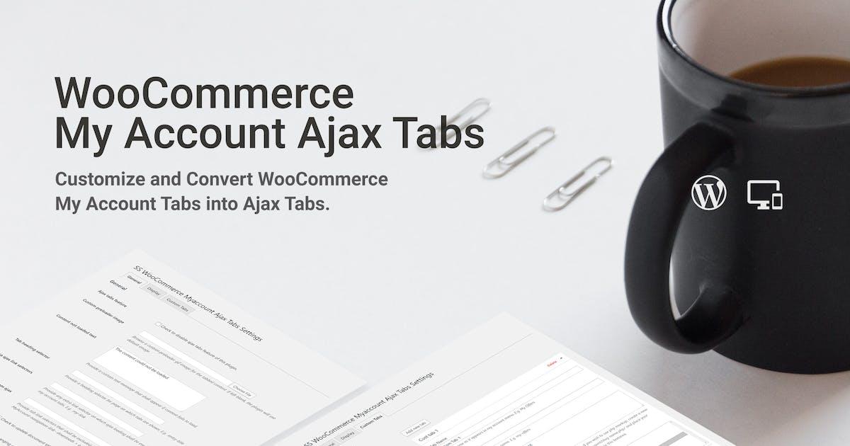 Download WooCommerce Myaccount AJAX Tabs by SaurabhSharma