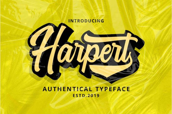 Cover Image For Script Harpert
