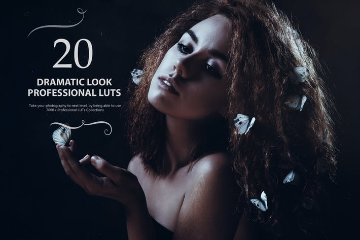 Thumbnail for 21 Dramatic Look LUTs Pack