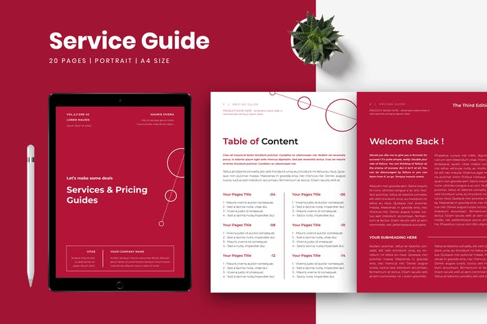 Thumbnail for Service & Pricing Guide