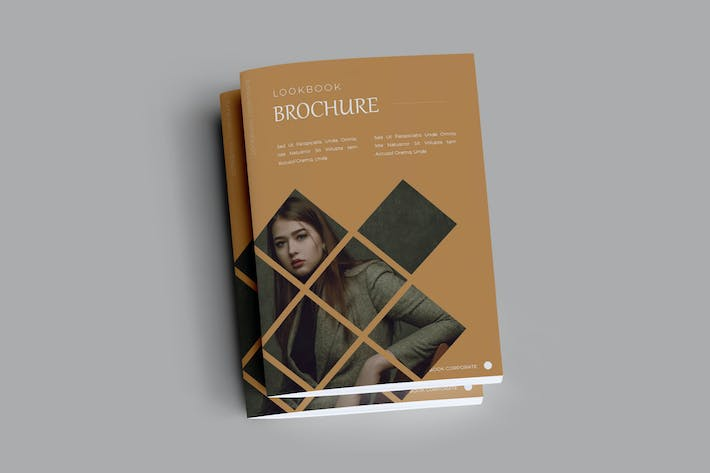 Thumbnail for Lookbook Brochure Template