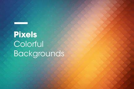 Pixels   Colorful Backgrounds