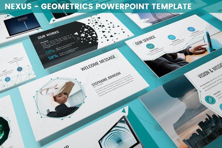 Nexus - Geometrics Powerpoint Template