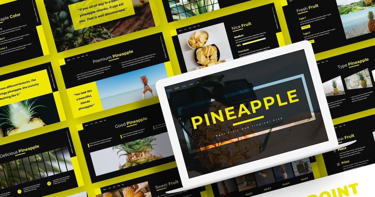 Download Pineapple - Powerpoint Template by karkunstudio