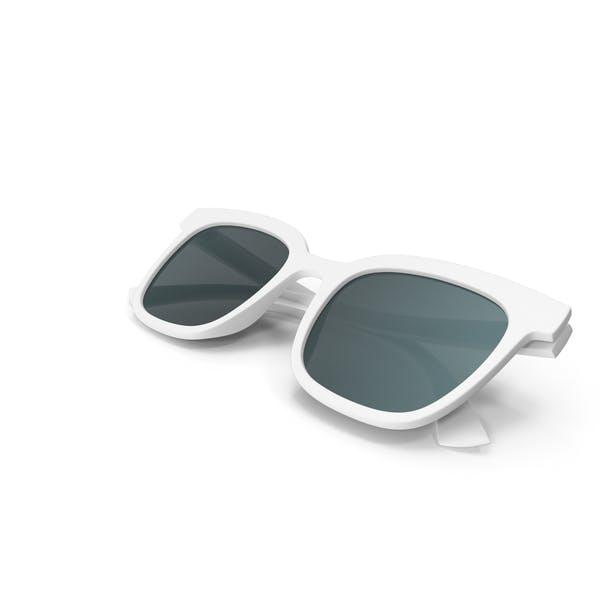 Womens Sunglasses Closed White