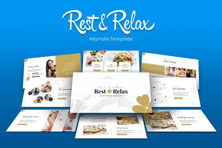 Thumbnail for Rest & Relax - Keynote Template