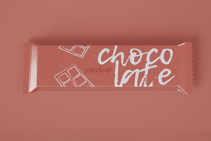 Thumbnail for Schokoladen-Imbiss-Mockup