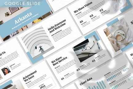 Arkanta - Business Google Slide Template