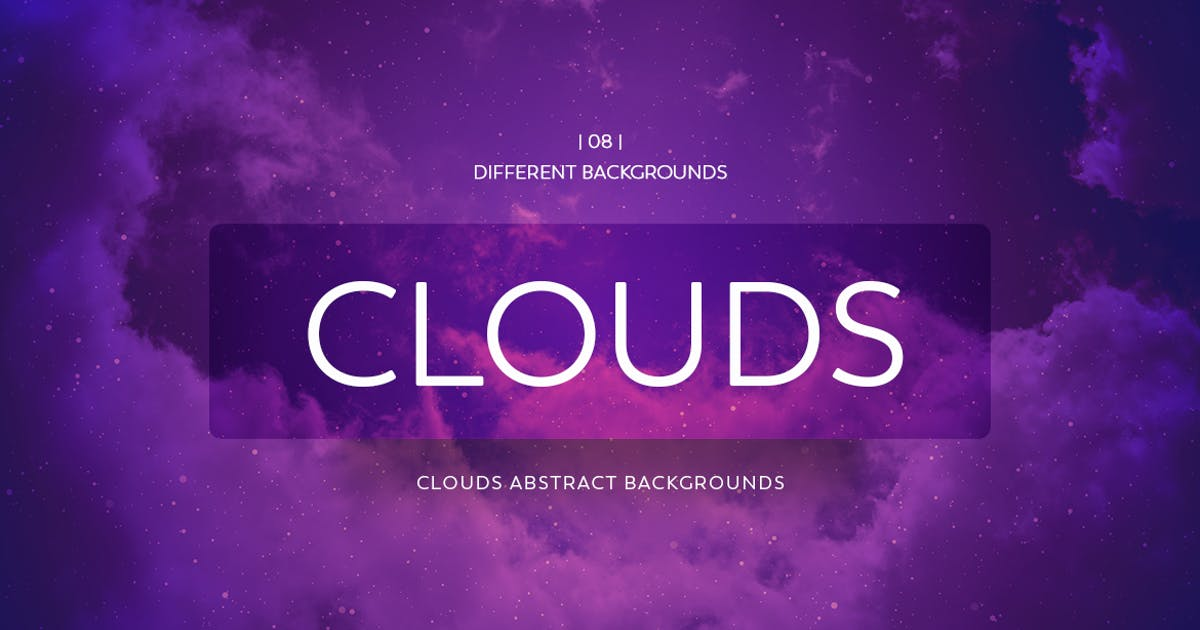 Clouds Abstract Backgrounds by mamounalbibi