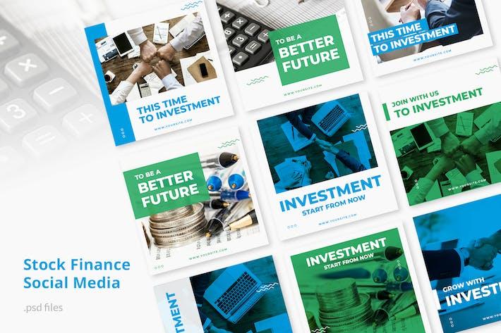Thumbnail for Social Media Kit Stock Finance