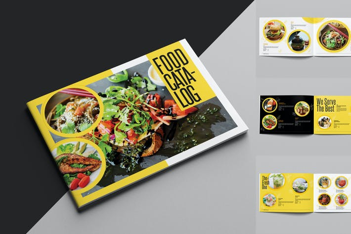 Thumbnail for Food Catalog Template