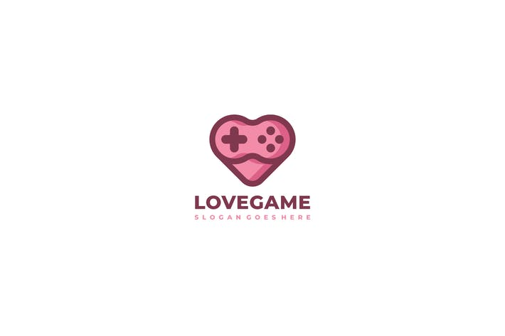Cover Image For Love Game Logo