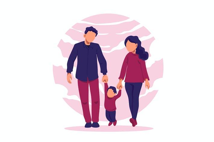 Thumbnail for Familie - Vektor Illustration