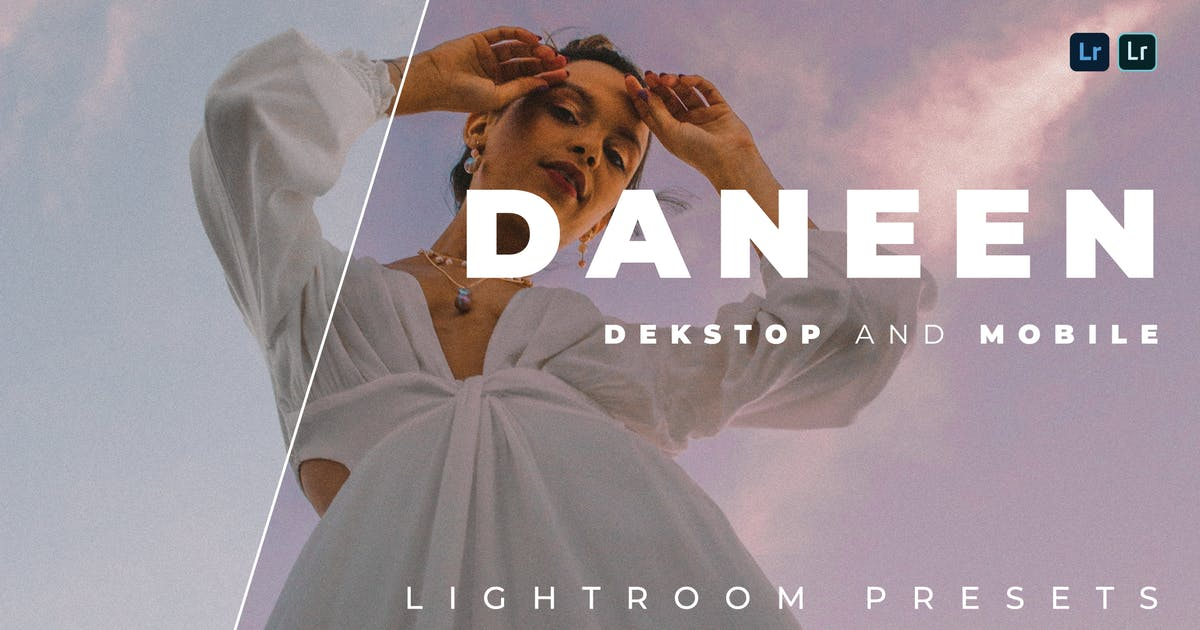 Download Daneen Desktop and Mobile Lightroom Preset by Bangset