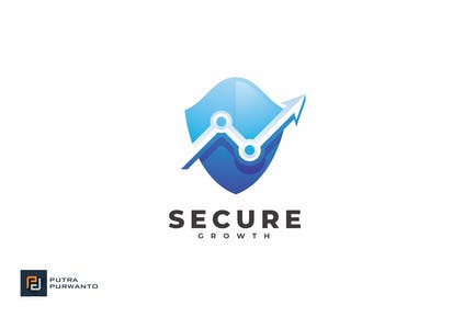 Secure Growth - Logo Template