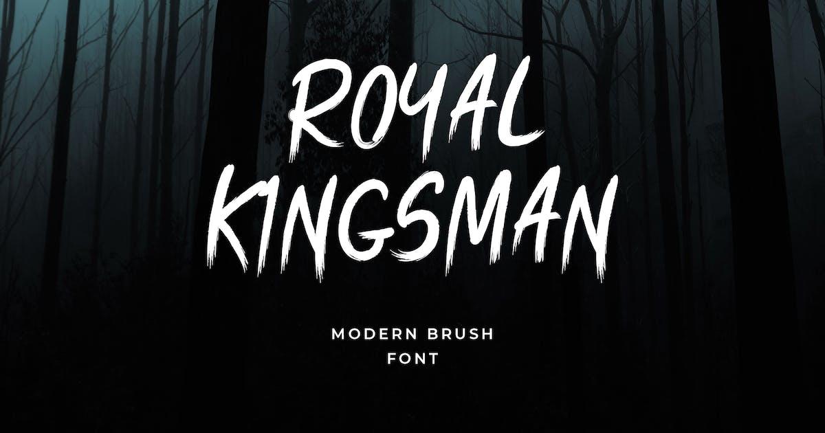 Download Royal Kingsman Handbrush Typeface by uicreativenet