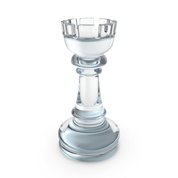 Chess Rook Glass