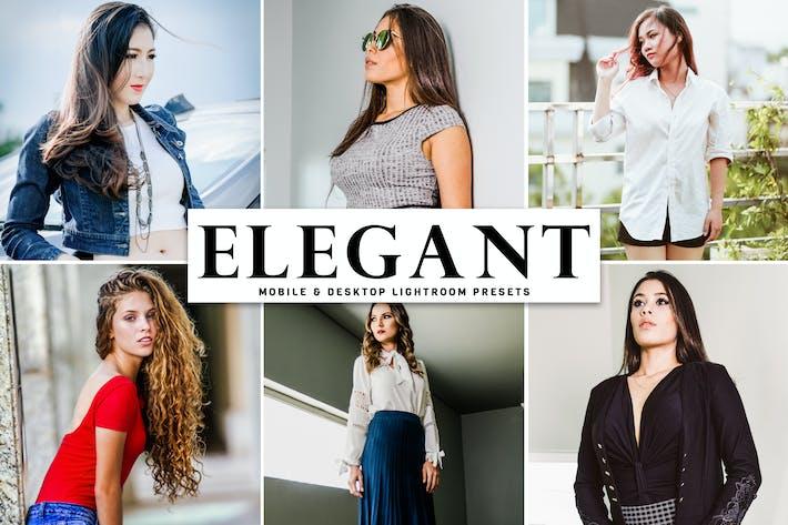 Thumbnail for Elegant Mobile & Desktop Lightroom Presets