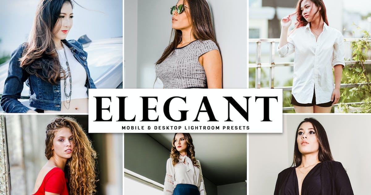 Download Elegant Mobile & Desktop Lightroom Presets by creativetacos