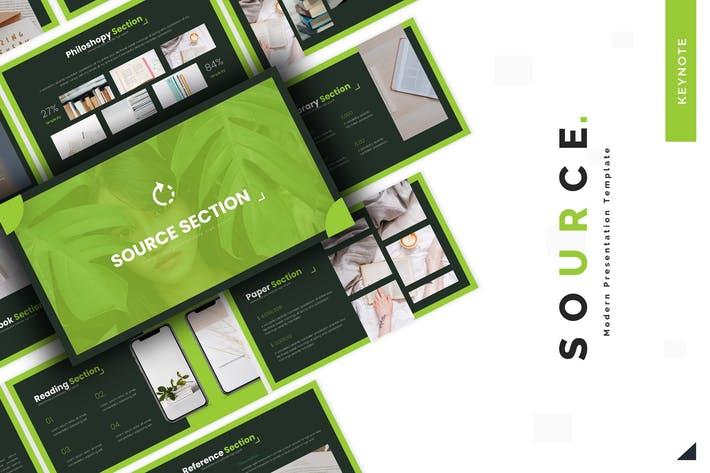 Thumbnail for Source - Keynote Template