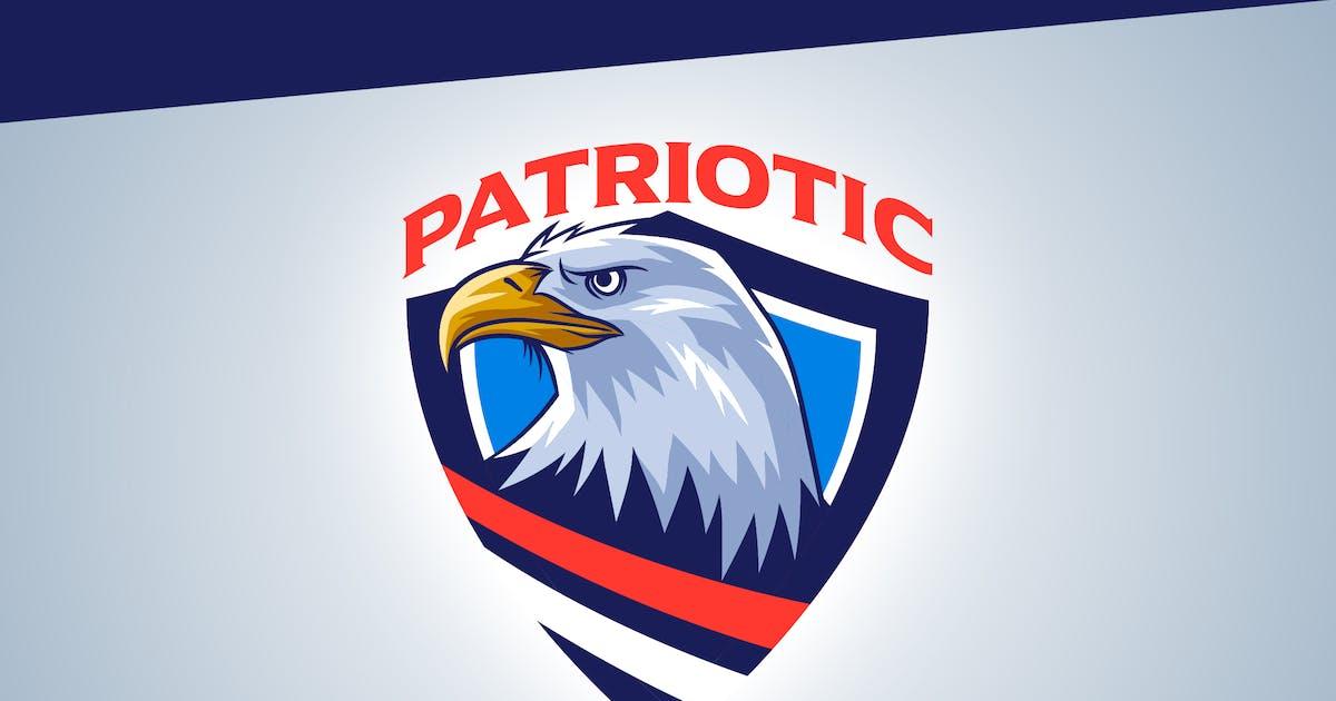 Download Patriotic - Bald Eagle Emblem Logo by Suhandi