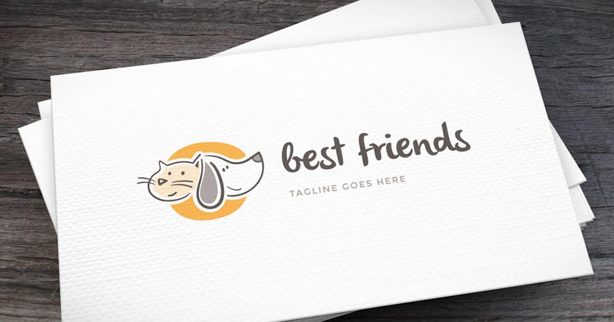 Download Best Friend Logo Template by empativo