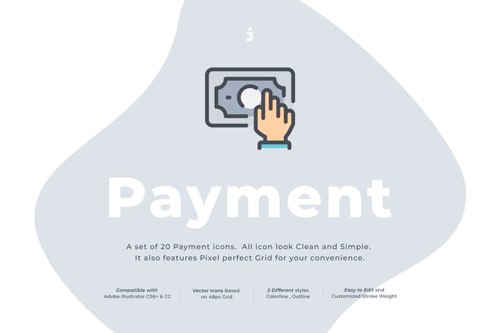 Cover Image For 20 Payment icon set